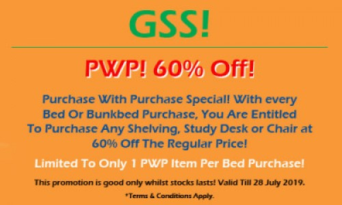 GSS SALE! PWP SPECIAL!